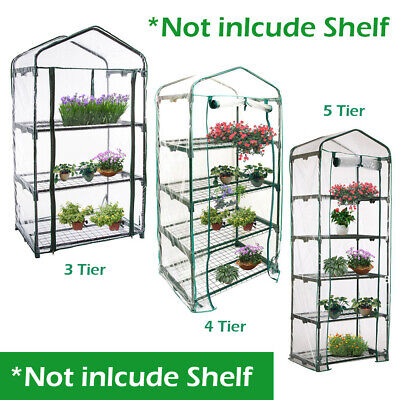 Mini Greenhouse 3 4 5 Tier Growbag Growhouse House Covers Plastic Garden Outdoor