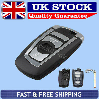 For BMW F10 F20 F30 F40 1 3 5 SERIES Remote Smart Key Fob Case Shell 4 Button