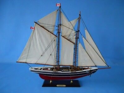 "Replica Handcrafted Sailboat 25"" Assembled High Museum Quality Amazing Detail"
