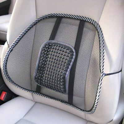 Mesh Lumbar Lower Back Support Cushion Seat Posture Corrector For Car Chair