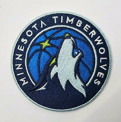 Aufnäher NBA Basketball Team Minnesota Timberwolves Logo patch Bügelbild iron on