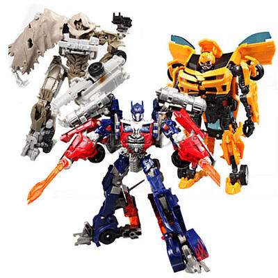 Transformers Optimus Prime Bumblebee Action Figures Robot Cars Autobot Model