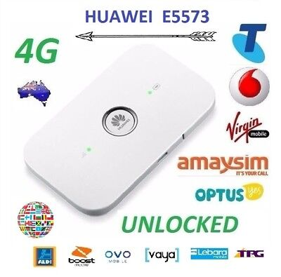 New *Unlocked* Huawei E5573 4G/4GX WIFI Modem/Broadband (Best for Overseas)