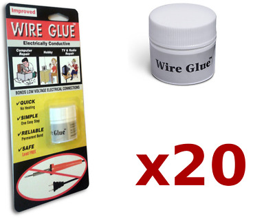 20x Highly Conductive Wire Glue/Paint for AC/DC (Trade pack) - NO Soldering Iron