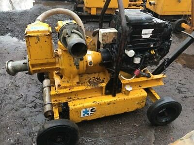 Selwood S100 Diesel Water Pump On Wheels (sp27)