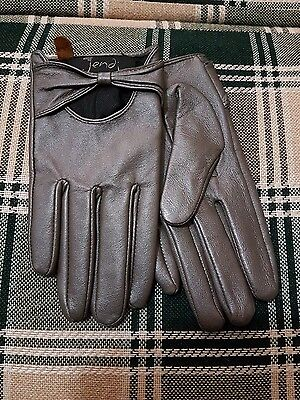 vintage pinup rockabilly burlesque style ladies gloves sz m