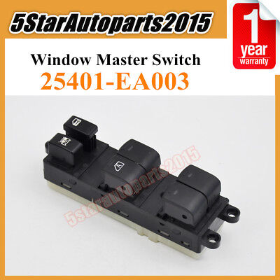 Window Master Control Control Switch 25401-EA003 for Nissan Frontier Xterra 4.0L