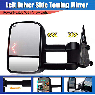 Left+Right 99-06 Chevy Silverado GMC Sierra Folding Manual Tow Side Mirrors