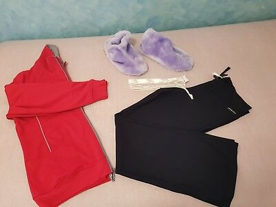 Ladies Clothes Mixed Winter Clothes Zip Jacket Running Bare Pants Size 16 / Xxl