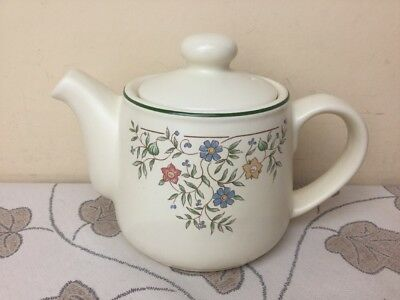 BHS Country Garland Small Teapot 3/4 Pint Lovely Condition