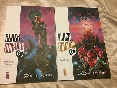 NOWHERE TPB Image Comics Remender Collects 6-11 TP BLACK SCIENCE VOL #2 WELCOME
