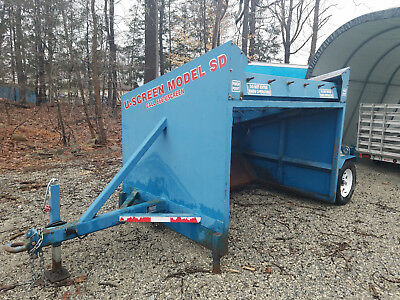 U-Screen dirt/topsoil/stone screener model SD