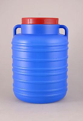 Plastic barrel 15L Water Storage Drum Keg Container Food Grade Tank Screw Open