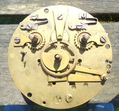 Antique FRENCH Mantel Clock Movement for Restoration or Spares.