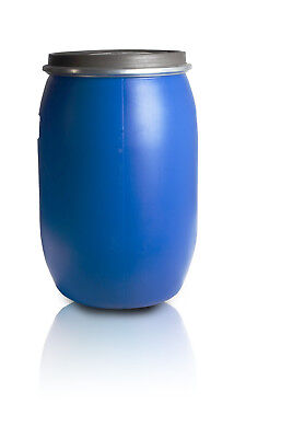 Plastic barrel 60L with clamp ring Water Storage Container Drum Keg Food Grade