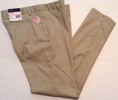 French Toast Girls School Uniform Pants Skinny Adj Waist Beige Size 20  NWT