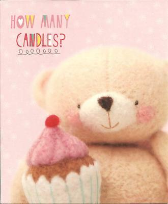 Hallmark How Many Candles Cute Forever Friends Birthday Card
