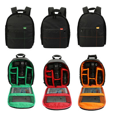 DSLR Digital Camera Shoulder Backpack Video Photo Travel Bag Case Waterproof