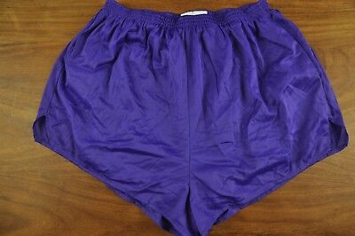 Glanz Ibiza Xs #2085 Vtg Shiny Retro High Leg Sprinter Sports Shorts