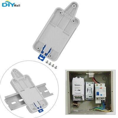 Sonoff DR DIN Rail Tray Mounted Case for Sonoff RF Pow TH10 TH16 Dual G1