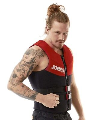 Giubbotto Di Sicurezza Jobe Neoprene Vest Men Red Xl  Acquascooter E Water Sport
