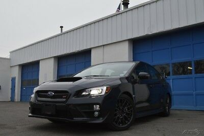 Subaru WRX STi w/Wing Full Power Options Heated Ultrasuede Seats Color Match Wheels Rear Cam Excellent