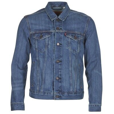 Giacca in jeans uomo Levis  THE TRUCKER JACKET  Blu   6993460