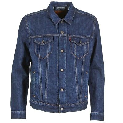 Giacca in jeans uomo Levis  THE TRUCKER JACKET  Blu   3075445