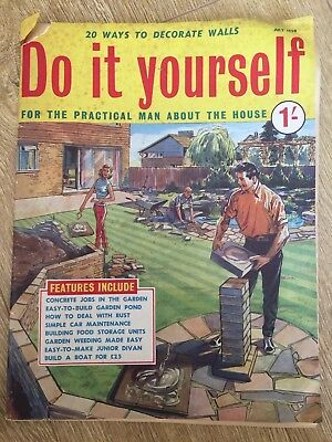 Vintage do it yourself magazine july 1959 450 picclick uk vintage do it yourself magazine july 1959 solutioingenieria Gallery