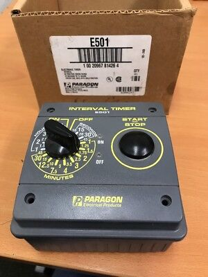 New Paragon Electric E501 Electronic Timer