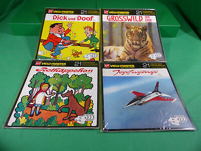 GAF View Master - Lot  Reels  + Viewer -Ladenfund Großformat NOS - Lot 2