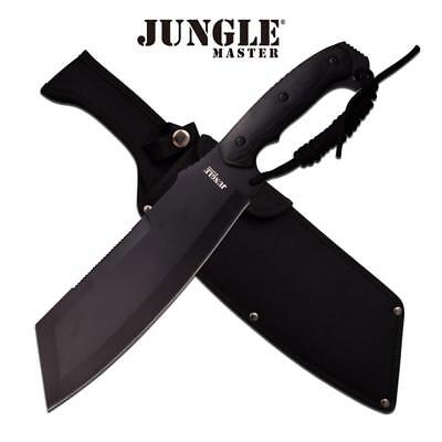 "15.75"" Jungle Master Tactical Cleaver Machete Knife"