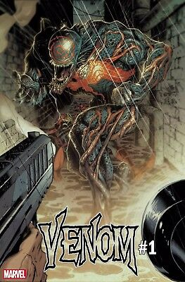 VENOM #1 2nd Print Variant Donny Cates Marvel Comics NM Presale 6/15/2018