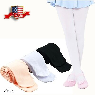 Nexete Ultra Soft Ballet Dance Tights for Toddler Kid Girl