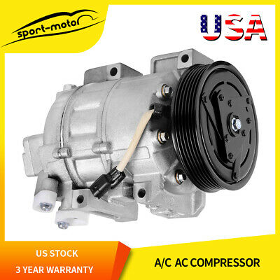 A/C Compressor and Clutch CO 10886C(1110886)for 2007-2012 Nissan Altima 2.5L