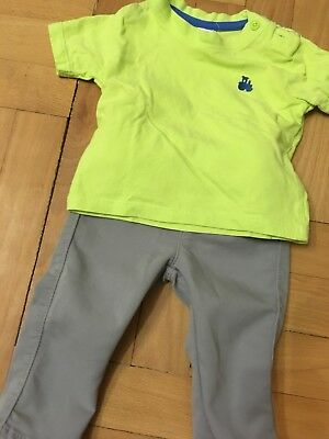 ** Baby - Set - Hose & Shirt - Gr. 62 - Benetton - NEU **