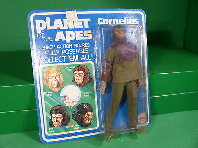 1967 Mego Planet of the Apes Cornelius on card - Action Figure vintage