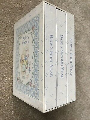 C.R. Gibson Lullaby Baby Slipcase Baby Album Set -  First Second and Third Years