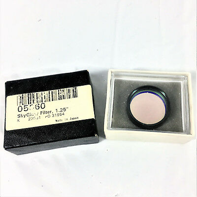 "ORION SKYGLOW BROADBAND FILTER 05660 1.25"" Telescope 1 1/4"