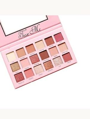 Tease Me Eyeshadow Palette Beauty Creations , 18 colors Highly Pigmented