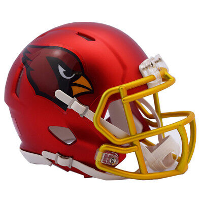 Arizona Cardinals Blaze Alternate Riddell Mini Helm - NFL - American Football
