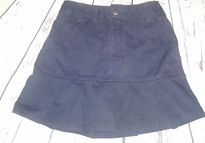 French toast school uniform Navy skirt skort size 6X