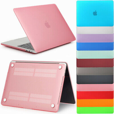 """Rubberized Hard Laptop Shell Case Cover For MacBook Air 11"""" Pro 13/15"""" Retina 12"""