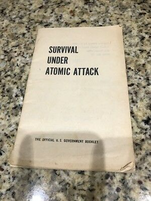 Cold War pamphlet, Survival Under Atomic Attack, 1950 edition