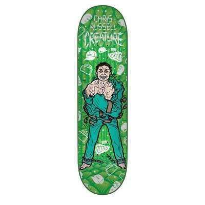 """Creature Skateboard Deck Psych Ward Russell 8.5"""" FREE POST & FREE GRIP"""