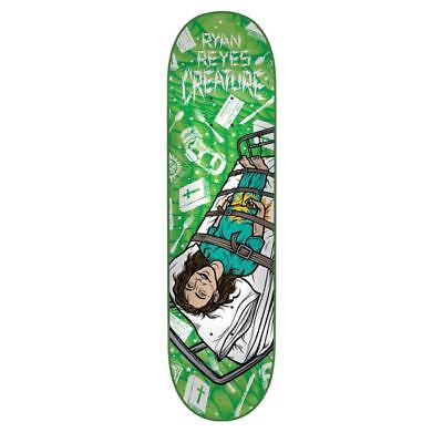"Creature Skateboard Deck Psych Ward Reyes 8"" FREE POST & FREE GRIP"