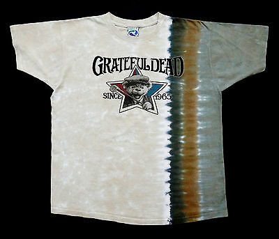 Grateful Dead Shirt T Shirt Golf Golfing PGA Tie Dye Dancing Bear GDP 2000 L