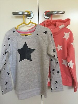 Girls Jumper Hoodie Bundle x2 Eve's Kids Size 7