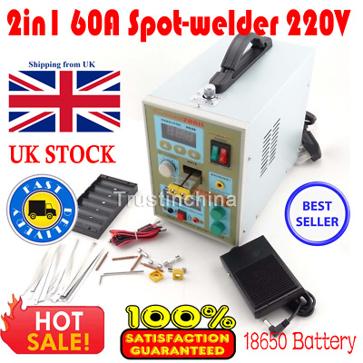 2in1 60A Spot Welding Spot-welder Soldering 788H for Battery Charger DIY
