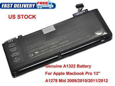 """Laptop Battery For Apple A1322 Macbook Pro 13"""" A1278 Mid 2009/2010/2011/2012"""